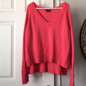 Pink J. Crew Sweater
